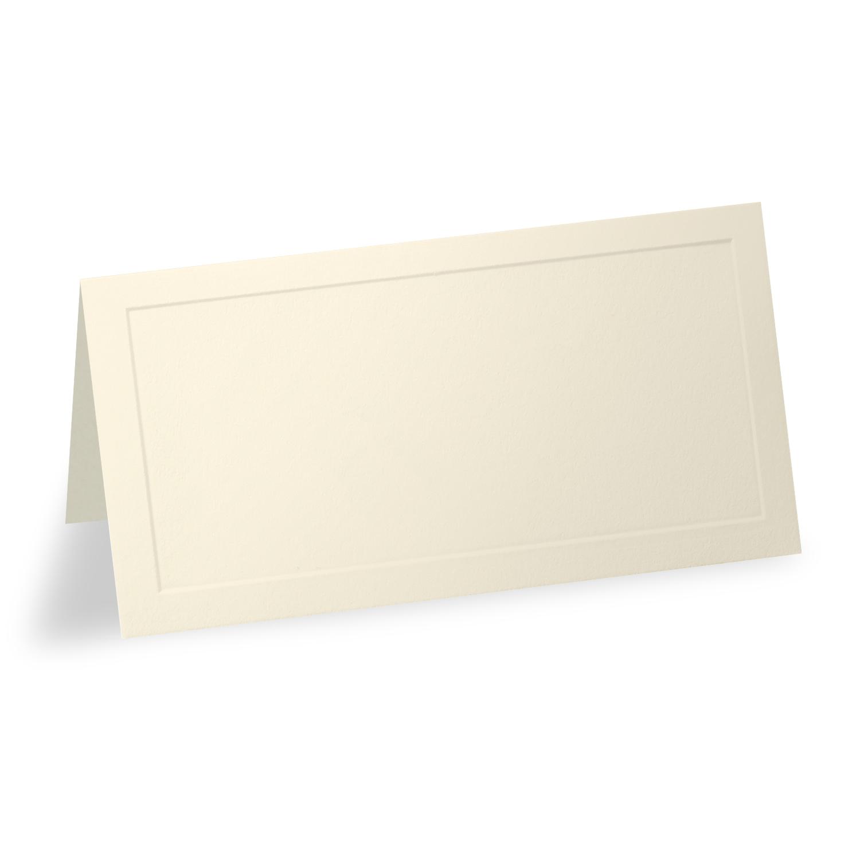 Ecru Vellum Place Card - Blank