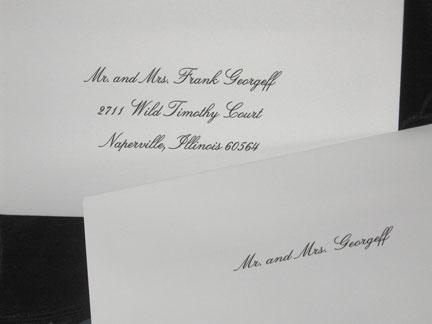 Inner/Outer Envelope Set Addresssing