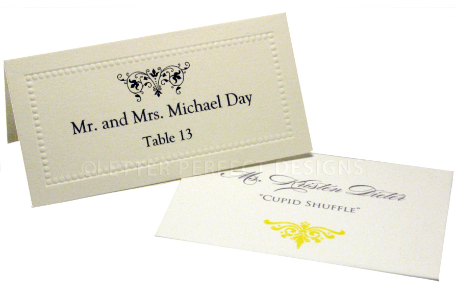 Place Card Printing